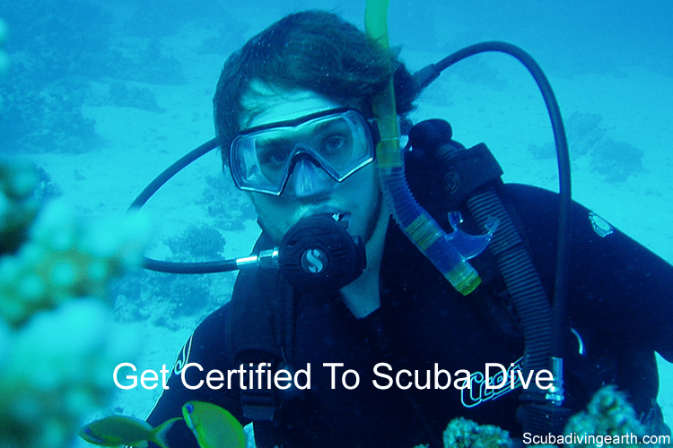 Scuba diving safety rules - Get certified to scuba dive