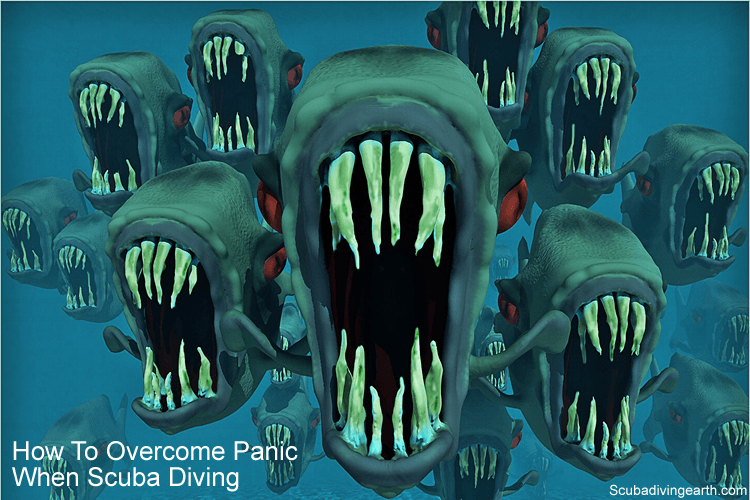 How to overcome panic when scuba diving