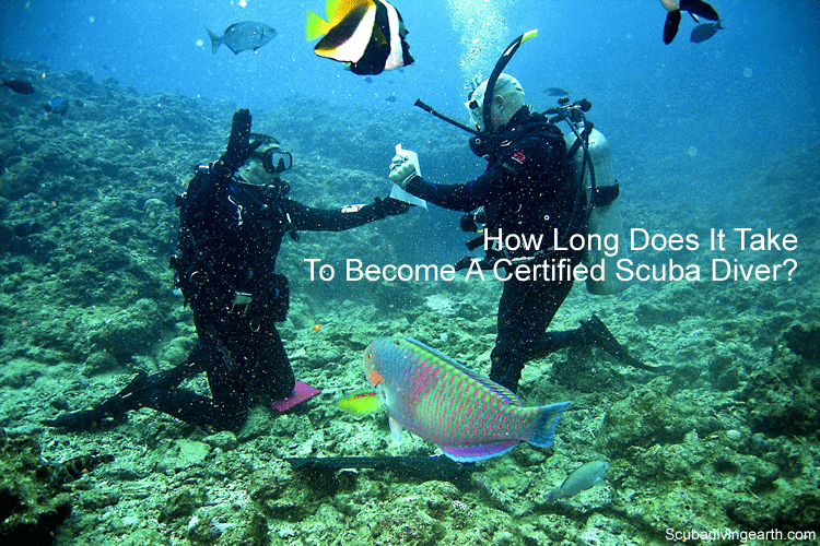 How long does it take to become a certified scuba diver
