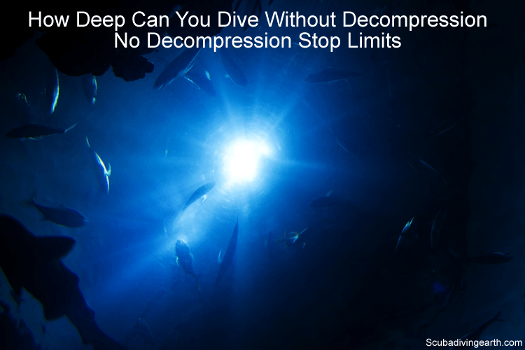 How Deep Can You Dive Without Decompression - No Decompression Stop Limits