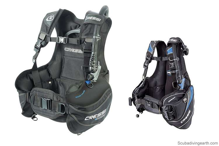 Scuba diving buoyancy control device