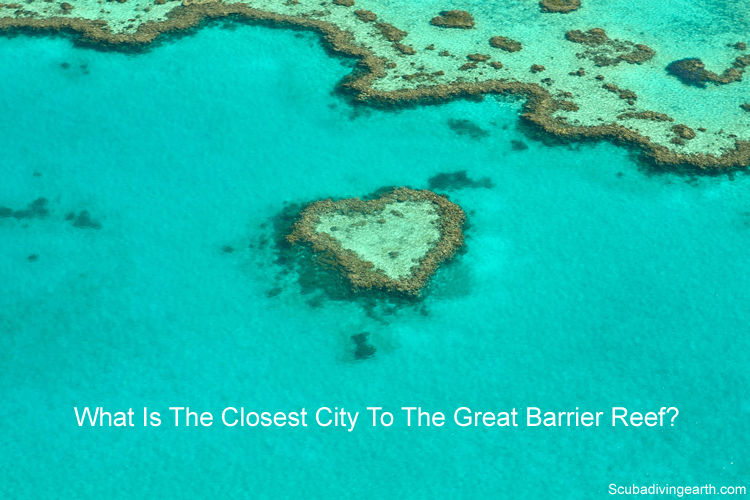 What is the closest city to the Great Barrier Reef