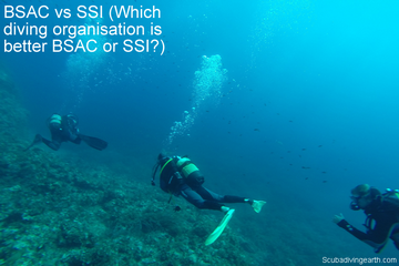BSAC vs SSI (Which diving certification is better BSAC or SSI?)