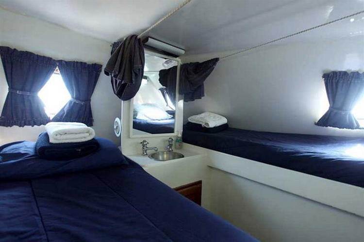 Bahamas Cat Ppalu Liveaboard Features Table