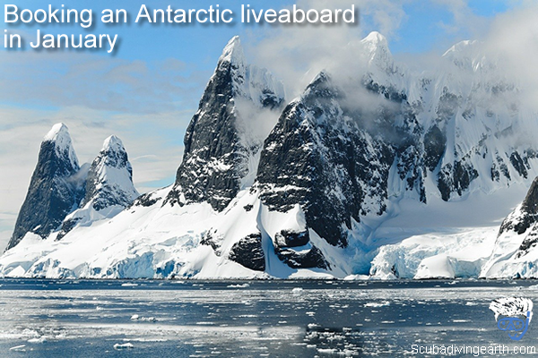 Booking an Antarctic liveaboard in January