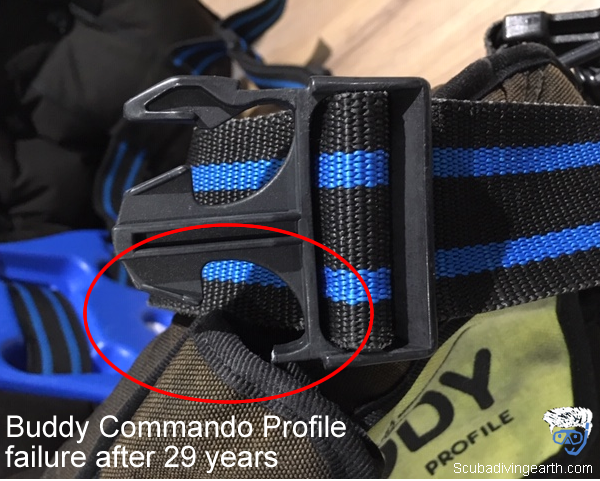 Buddy Commando Profile BCD failure after 29 years