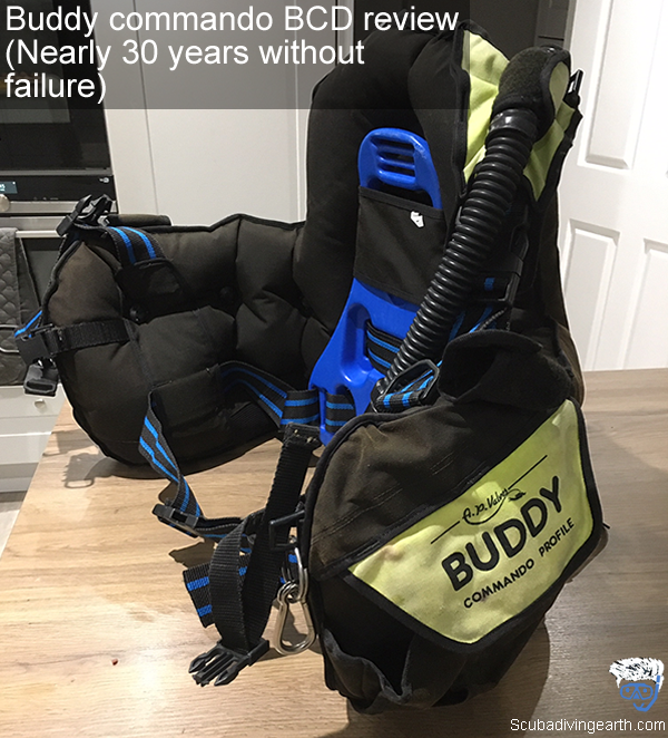 Buddy commando BCD review - Nearly 30 years without failure