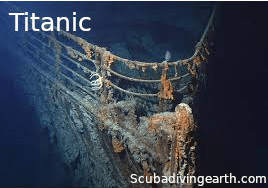Can you scuba dive to see the Titanic