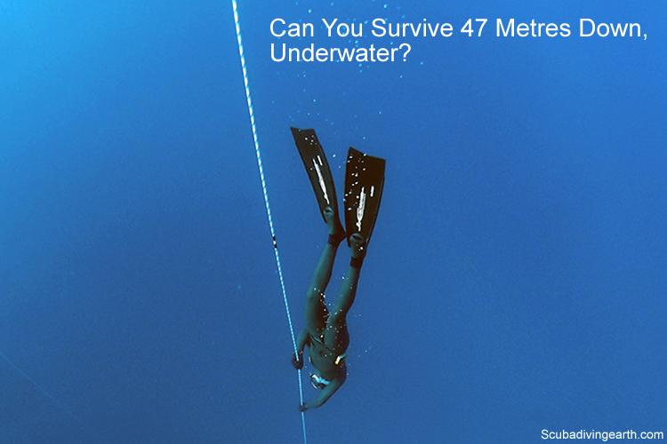 Can you survive 47 metres down underwater