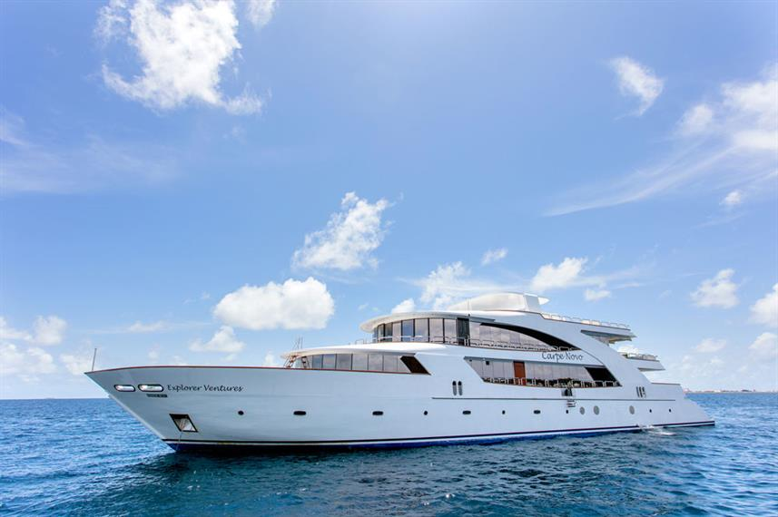 Carpe Novo Maldives liveaboard for kids