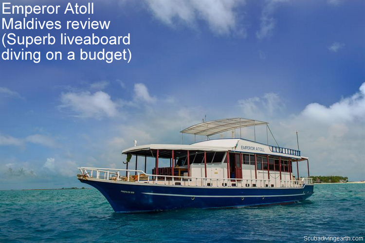 Emperor Atoll Maldives review - Superb liveaboard diving on a budget trip
