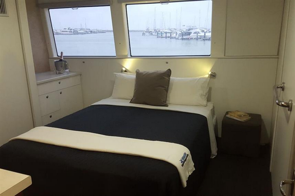 Odyssey liveaboard double cabin with sea views
