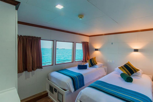 Features of Maldives Emperor Voyager cabin review