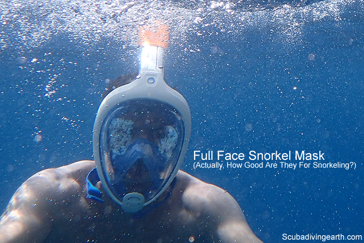 Full Face Snorkel Mask - How Good Are They For Snorkeling large
