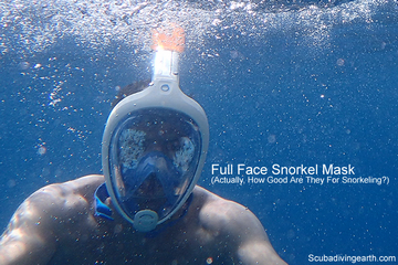 Are Full Face Snorkel Masks Safe? (Read This Before You Buy One)