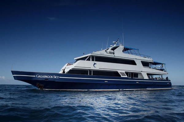Galapagos Sky Liveaboard - best luxury dive liveaboard Galapagos