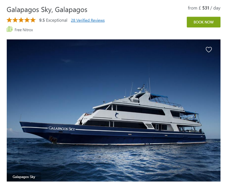 Galapagos Sky Liveaboard overview