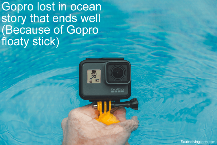 Gopro lost in ocean scuba diving story that ends well (Because of Gopro floaty stick)