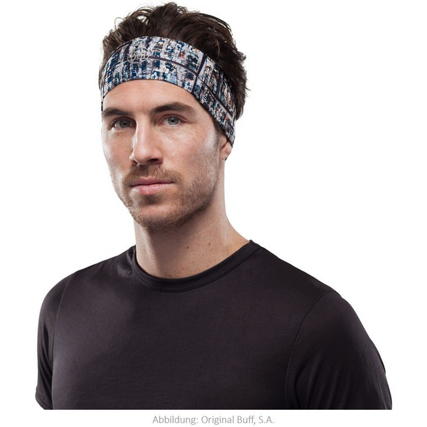 Headband buff for men with long hair