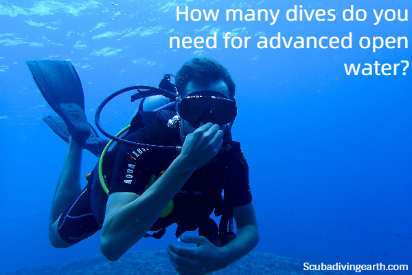 How many dives do you need for advanced open water