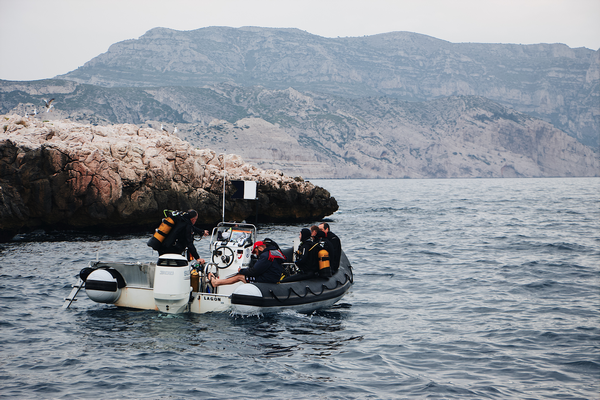 How much wind is too much for diving will be affected by the type and size of of boat you have