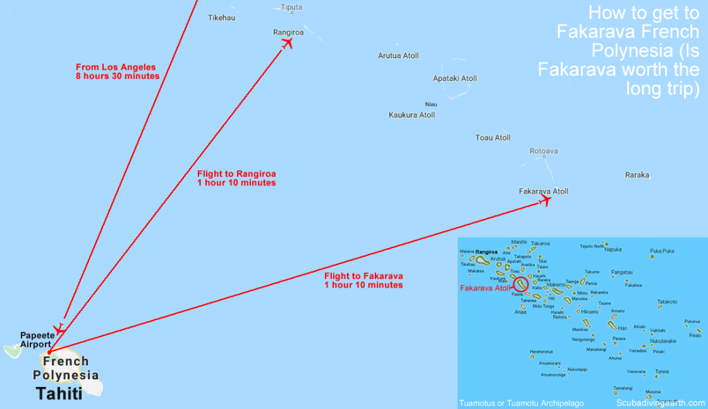 How to get to Fakarava French Polynesia - Is Fakarava worth the long trip large