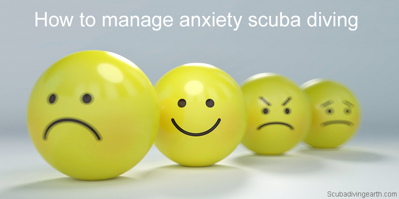 How to manage anxiety scuba diving