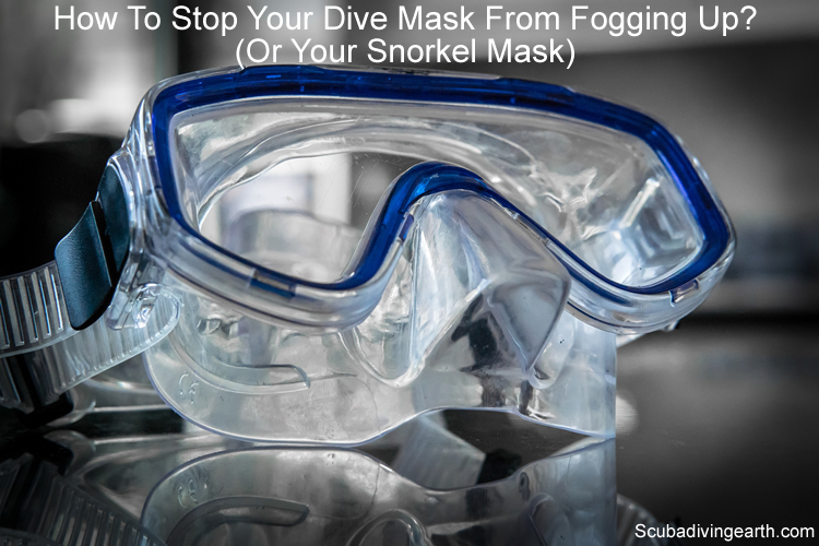 How to stop your dive mask from fogging up or your snorkel mask