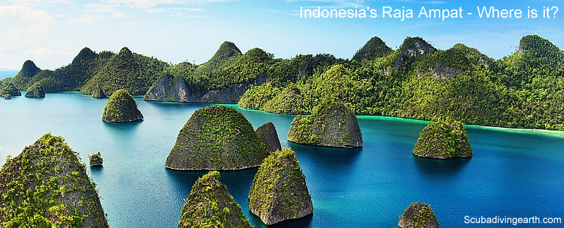 Indonesian Raja Ampat where is it