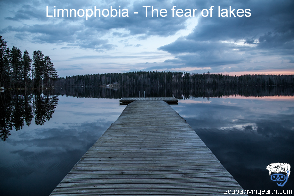 Limnophobia - The fear of lakes