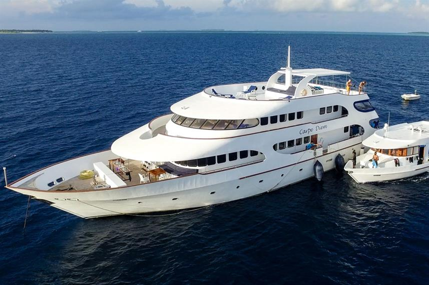 MV Carpe Diem Liveaboard - Budget Maldives liveaboard diving