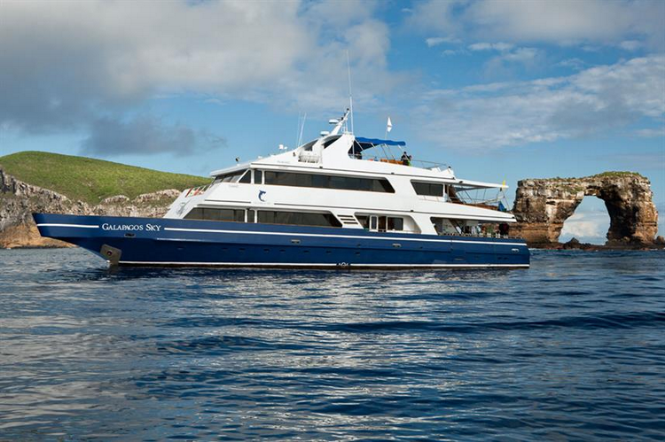 MV Galapagos Sky Liveaboard overview
