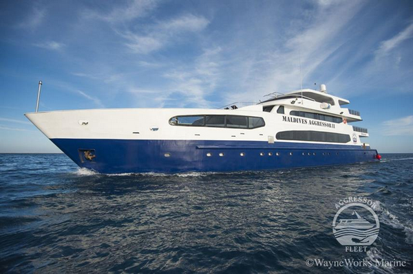 Maldives Aggressor II liveaboard with beginner dive tours