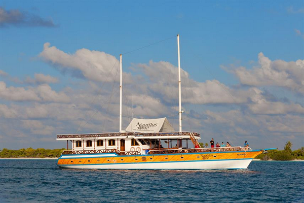 Nautilus One Maldives liveaboard suitable for families