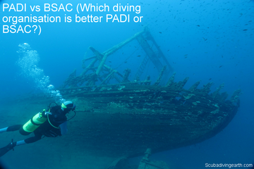 PADI vs BSAC (Which diving qualification is better PADI or BSAC?)