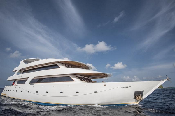 Princess Rani Maldives liveaboard with family cabins on board