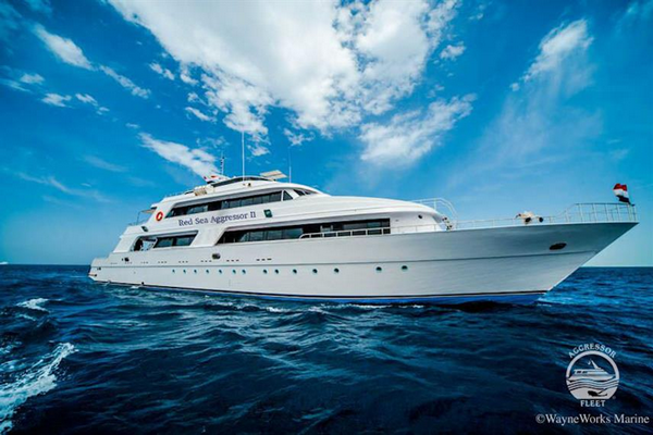 Red Sea Aggressor II - best budget liveaboard Egypt Red Sea large