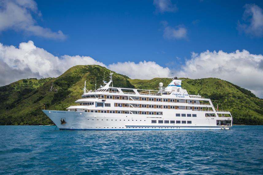 Reef Endeavour Fiji Liveaboard boat - rated 9.2 out of 10 and Superb, plus 4.5 stars out of 5