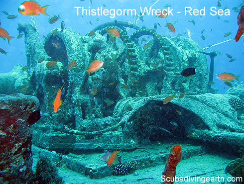 Scuba dive type 5 – Wreck diving - Thistlegorm wreck Red Sea large