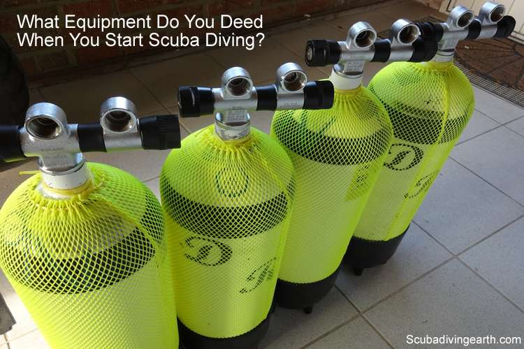 Scuba diving equipment what do you need