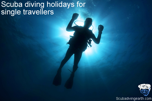 Scuba diving holidays for single travellers