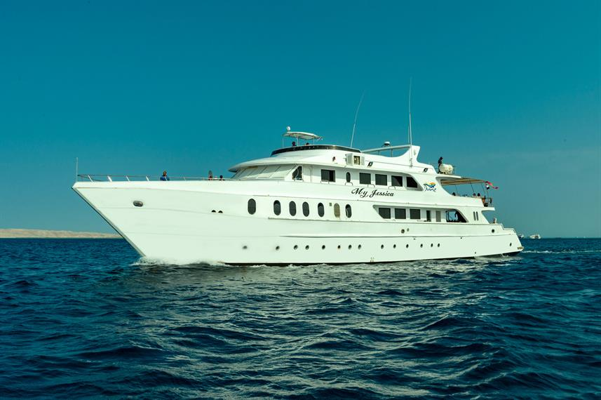 Tech diving liveaboard Red Sea