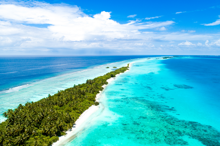 The Maldives is one of the best places for beginner scuba divers