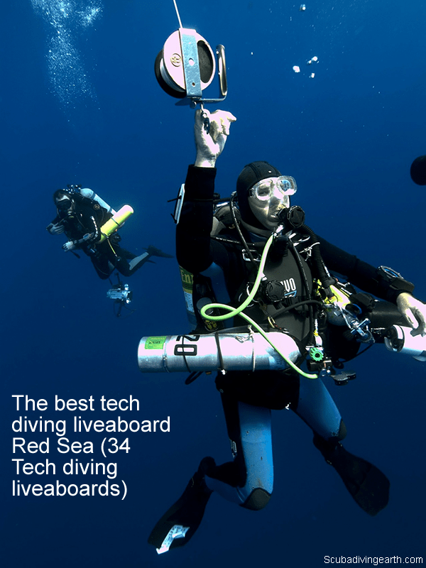The best tech diving liveaboard Red Sea (34 Tech diving liveaboards)