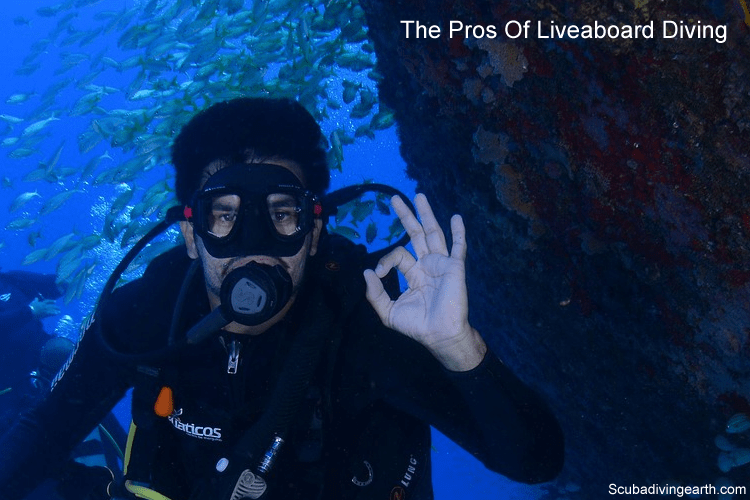 The pros of liveaboard diving