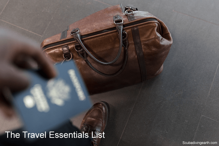 What should I bring on a scuba diving trip - The travel essentials list