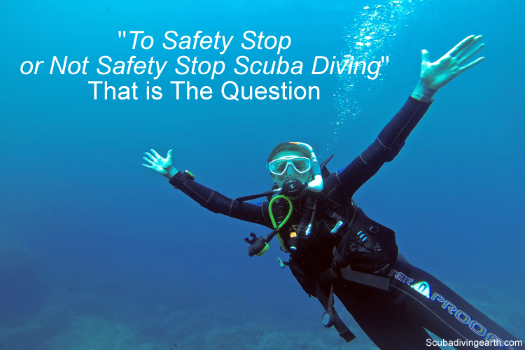 To Safety Stop or Not Safety Stop Scuba Diving That is The Question