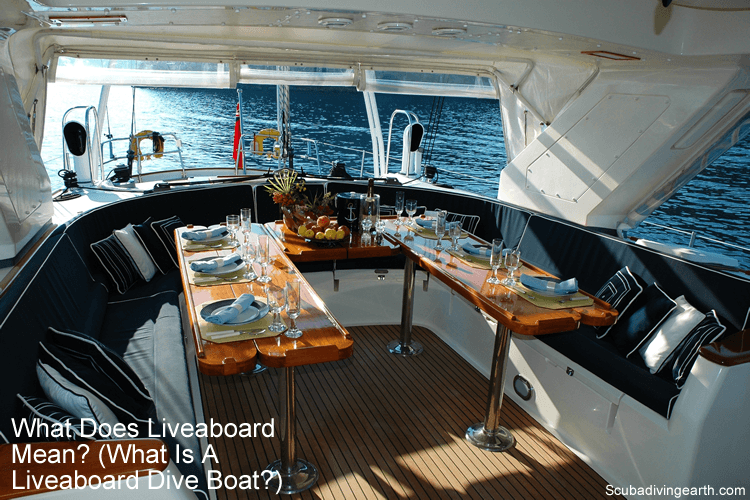 What is a liveaboard diving
