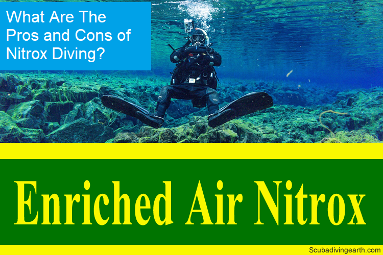 What are the Pros and cons of nitrox diving large