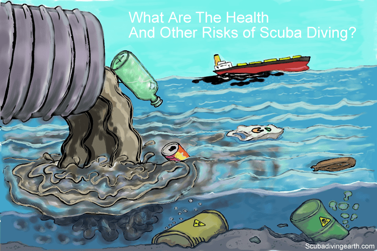 What are the health and other risks of scuba diving